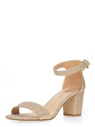 Dorothy Perkins Champagne Rocco Sandal.