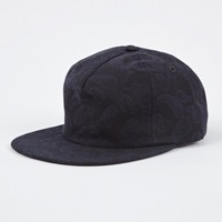 Norse Projects Paisley Trucker Cap Navy