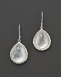 Ippolita Sterling Silver Wonderland Teardrop In Mother Of Pearl Earrings No Color