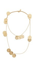 Gorjana Faye Wrap Necklace Gold