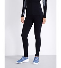Falke Ergonomic Sport System Fitness Long Jersey Leggings Black