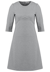 Kiomi Summer Dress Light Grey Melange Mottled Light Grey