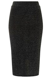 Midi Bodycon Skirt By Rare Black