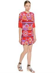 Peter Pilotto Printed Viscose Crepe Dress