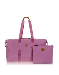 Bric's X Bag Large Foldable Last Minute Holdall In A Pouch Violet