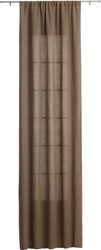 Cb2 Taupe Curtain Panel 48 X84