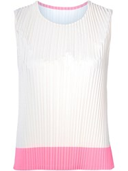 Sofie D'hoore Pleated Tank Top White
