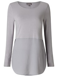 Phase Eight Sophia Top Silver