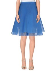 Kirsty Ward Skirts Knee Length Skirts Women Pastel Blue