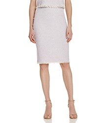 Rebecca Taylor Summer Tweed Skirt Lilac