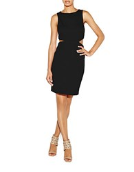 Nicole Miller Aria Heavy Matte Jersey Dress Black