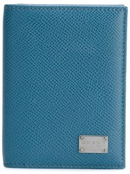 Dolce And Gabbana 'Dauphine' Cardholder Blue