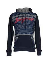 Desigual Topwear Sweatshirts Men Dark Blue