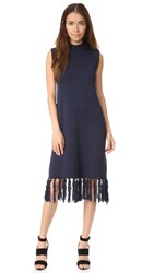 Finders Keepers Graduates Dress Navy