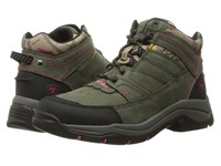 Ariat Terrain Pro Shadow Pink Hot Leaf Women's Hiking Boots Olive
