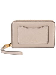 Marc Jacobs 'Recruit' Phone Wallet Grey