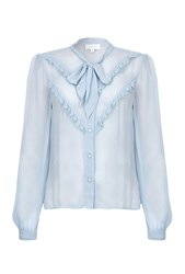 Ghost Danice Blouse Faded Blue Blue