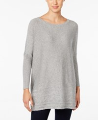 Styleandco. Style Co. Ribbed Cable Knit Sweater Only At Macy's Heather Grey