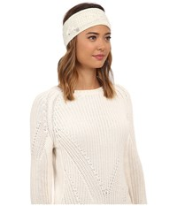 Ugg Isla Lurex Cable Headband Cream Multi Headband