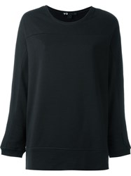 Y 3 Boxy Sweatshirt Black
