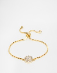 Love Rocks Gold Delicate Friendship Bracelet
