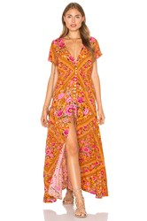 Spell And The Gypsy Collective Babushka Dress Mustard