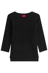 Hugo Pullover With Cotton And Silk Gr. M