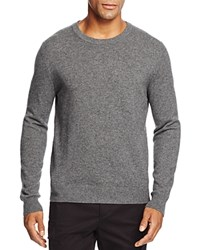 Bloomingdale's The Men's Store At Cashmere Crewneck Sweater Medium Heather Grey