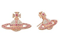 Vivienne Westwood Kika Earrings Crystal Rose Earring Pink