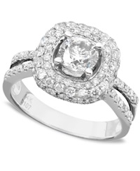 Macy's Engagement Ring Diamond 2 Ct. Tw. And 14K White Gold