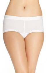 Exofficio Women's Give N Go Sport Hipster Briefs White