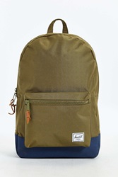 Herschel Supply Co. Settlement Colorblock Backpack Green Multi