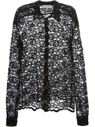 Dolce And Gabbana Vintage Lace Shirt Black