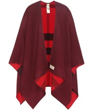 Burberry London England Parade Merino Wool Scarf Red