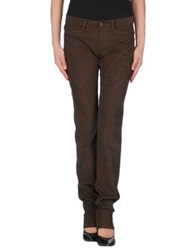 9.2 By Carlo Chionna Casual Pants Dark Brown