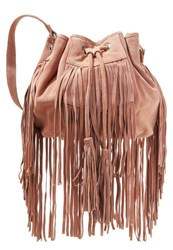 Miss Selfridge Across Body Bag Taupe Beige