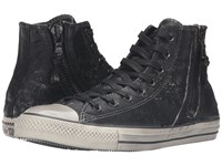 Converse Chuck Taylor All Star Side Zip Heavyweight Canvas Hi Turtledove Beluga Turtledove Lace Up Casual Shoes Black