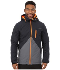 Quiksilver Mission Color Block Snow Jacket Iron Gate Men's Coat Gray