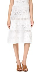 A.L.C. Tunney Skirt White