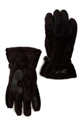 Scott Sports Women's Fuzzy Gloves Black
