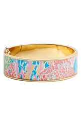 Women's Lilly Pulitzer 'Boca' Print Bangle Turquoise