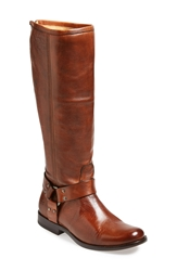 Frye 'Phillip Harness' Tall Boot Whiskey