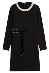 Marc By Marc Jacobs Dress With Lace Up Detail Black
