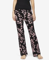 A Pea In The Pod Maternity Ruched Pajama Pants Japanese Floral Print
