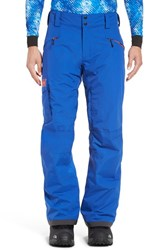 Helly Hansen Men's 'Sogn' Waterproof Primaloft Cargo Snow Pants Classic Blue