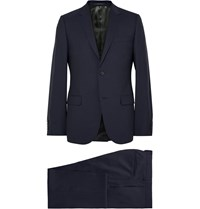 Gucci Navy Monaco Slim Fit Wool Suit Midnight Blue
