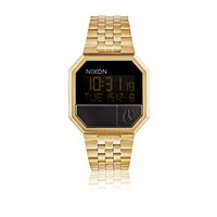 Nixon Re Run' Digital Watch Gold