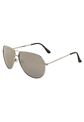 Your Turn Trunorths Sunglasses Silver Silver Mirror