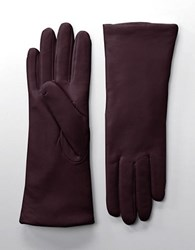 Lord And Taylor Leather Gloves Chianti