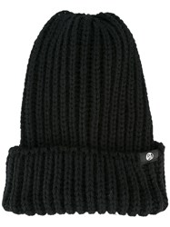 Paul Smith Ps By Chunky Knit Beanie Black